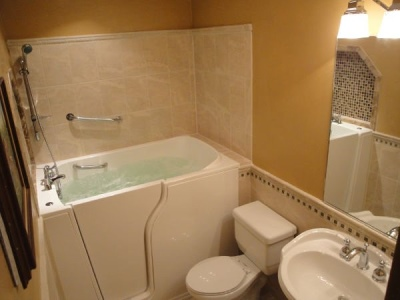 Independent Home Products, LLC installs Hydrotherapy walk in tubs